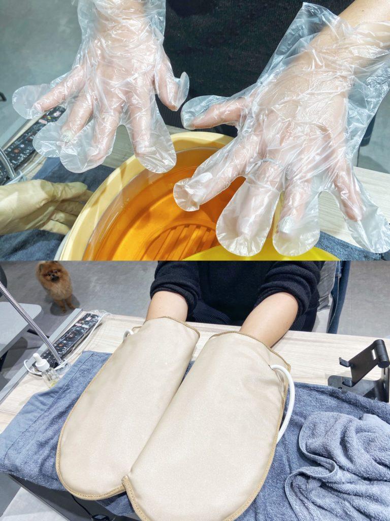 手部護理 蜜蠟保濕熱導入
