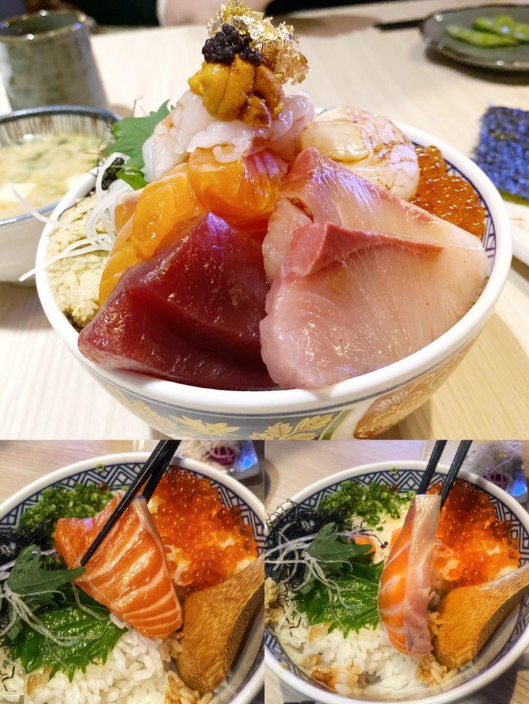 歐買尬海鮮丼飯